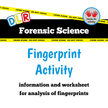 free fingerprint activity forensic science forensic science