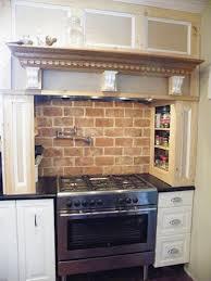 faux brick kitchen backsplash kitchen kitchen backsplash brick look contemporary faux brick