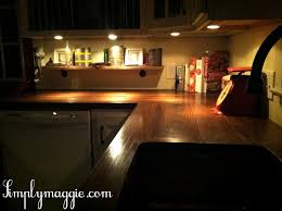 Kitchen Counter Lights Diy Wide Plank Butcher Block Counter Tops Simplymaggie Com