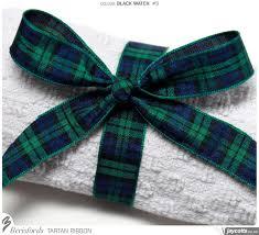 tartan ribbon berisfords tartan ribbon 9 black jaycotts co uk sewing