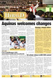 aquinian herald volume ii issue 1 by aquinian herald issuu
