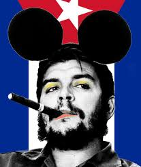 Che Guevara Flag Cartrain I Went To Disneyland And All I Got Was This Cigar Che