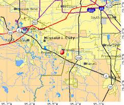 map of fresno fresno tx 77545 profile population maps estate