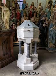 church baptistry baptismals used church items