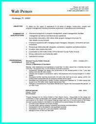 Best Project Manager Resume Sample by Charming Project Manager Resume Mechanical Superintendent