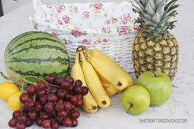 fruit basket gift fruit basket gift idea with free printable tag the crafting