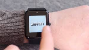 ferrari jeep using a smart watch device best auto manufacturers in the world