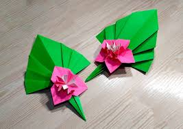 Origami Home Decor by Easy Paper Flower Ideas For Christmas Decor Origami Modular