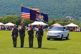 Excelsior Flag State Police Attended The 20th Anniversary Polo Match At Mashomack