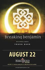 breaking benjamin at house of blues my rock 98