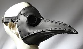leather plague doctor mask tom banwell leather and resin projects steam tech