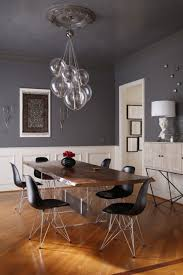 grey dining room ideas two tone grey dining room homes zone