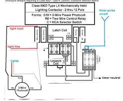 wiring diagram contactor relay