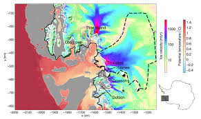 Map Of Ocean Currents Warming Seas Melting Ice Sheets Nasa