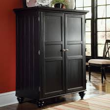 Computer Armoire Cabinet American Drew Camden Computer Armoire Black Storage Style