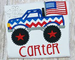 truck 4th july shirt boys 4th july truck shirt retro