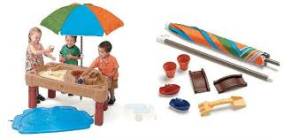 step 2 sand and water table toys r us canada step 2 play up adjustable sand water table now