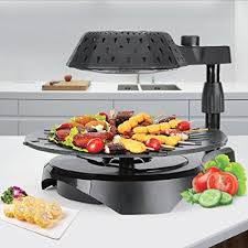 home 3d cuisine amazon com cook home 3d electric smokeless bio infrared bbq grill