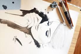 jessica durrant watercolour fashion illustration artist on etsy