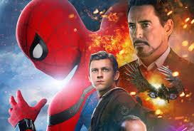 download spiderman homecoming iron man 1366x768 resolution full
