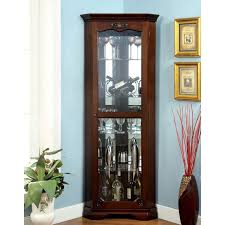 ashley furniture curio cabinet the most contemporary curio cabinets corner for property plan