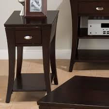 living room side tables with drawers innards interior