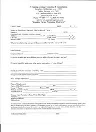 Counseling Intake Form A Healing Journey Counseling Consultation Forms