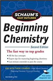 easy outlines schaum s easy outline of beginning chemistry second edition