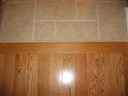 Floor Transition Ideas Interior Tile To Wood Floor Transition Ideas Tiling Designs Floor