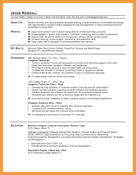 resume sle format for ojt students duties computer technician resume outstanding sle for network fresh
