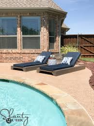 Diy Outdoor Lounge Furniture Diy Outdoor Lounge Chair And How To Video Shanty 2 Chic