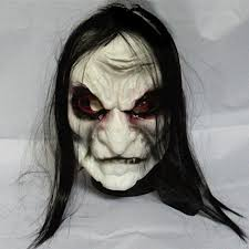 Super Scary Halloween Masks Aliexpress Com Buy Horror Halloween Mask Long Hair Ghost Scary