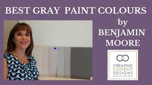 best gray paint cololurs by benjamin moore youtube
