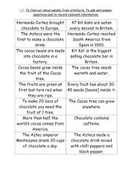 chocolate aztec resources part 2 by paris0504 teaching resources