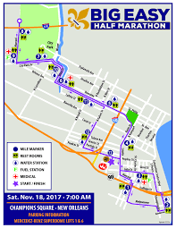 Map Of City Park New Orleans by Race Course Big Easy Run Fest
