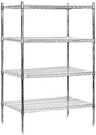 Storage Shelves Home Depot by Salsbury Industries Mobile Wire Shelving Unit 48inch Wide By