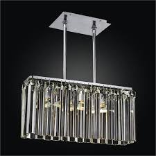 Chandeliers Song Linear Glass Chandelier Wind Song 620