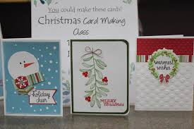 christmas card making charleswood 55 active living centre
