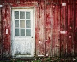 Red Barn Door by Rustic Red Wall Art Print U0027the White Barn Door U0027 Red Barn