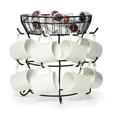 buy countryside mug tree with basket at mikasa