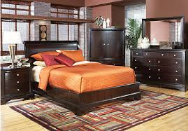 shop for a whitmore cherry platform 5 pc king bedroom at rooms to