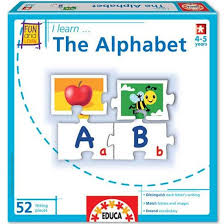 i learn alphabet puzzle matching game educational toys planet