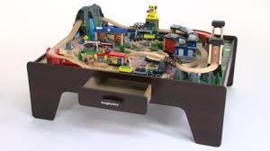 imaginarium classic train table with roundhouse imaginarium 100 piece mountain rock train table toys r us