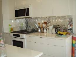 Mirrored Kitchen Backsplash Wonderful Kitchen Backsplash Mirror Railing Stairs And Kitchen