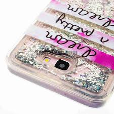 quicksand bling style soft tpu back cover case for samsung galaxy