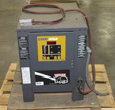 exide gold electric forklift battery charger 24v model wg1 12