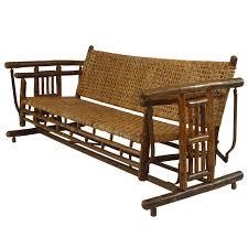 furniture porch glider bench in dark brown for home furniture ideas