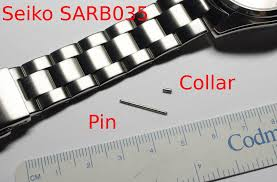 seiko bracelet metal images How to resize a seiko collar and pin watch band just another jpg