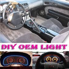 nissan silvia interior car atmosphere light flexible neon light el wire interior light