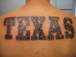 texas beautiful words tattoo designs photo 3 photo pictures